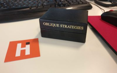 Oblique Strategies: In a Nutshell