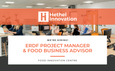 We're Hiring! 'Food Business Advisor' and 'ERDF Project Manager' Roles